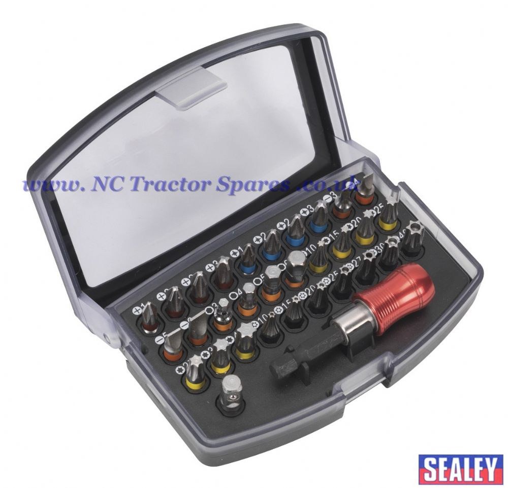 Power Tool Bit Set 32pc Colour Coded S2